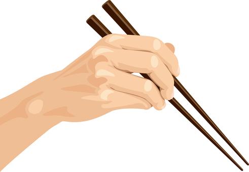 Chopstick hands