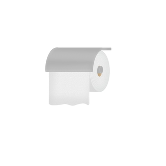 Toilet paper holder (without outline)