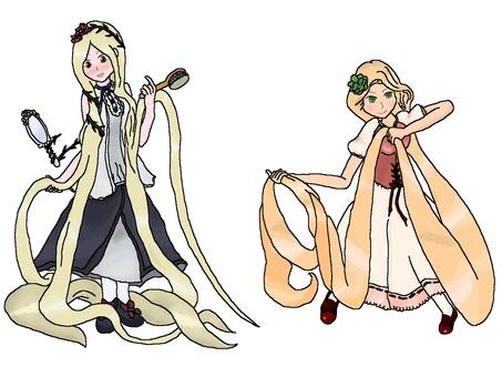 Shinaru Rapunzel 【Fairy tale】