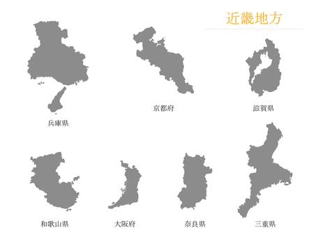 Prefectures _ Kinki