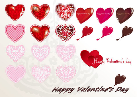 Valentine's Heart Ornament 02