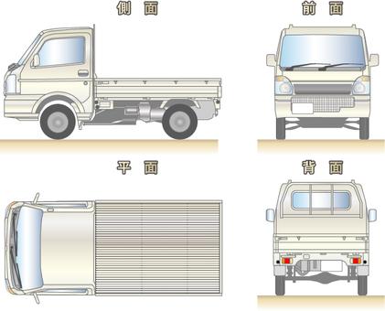 Light truck illustration