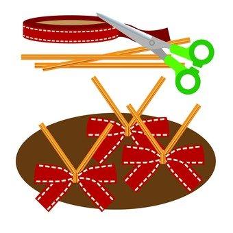 織帶飾品製作