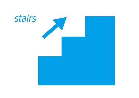 Staircase icon