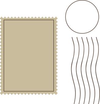 Stamp frame stamp frame
