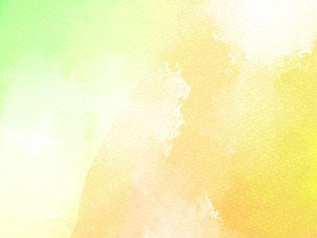 水彩風の背景素材04/黄色