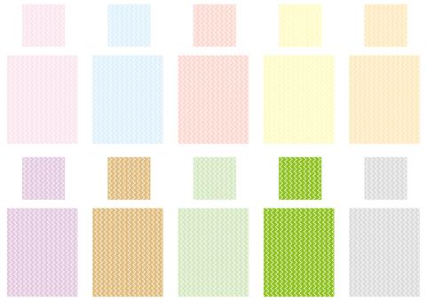 Pattern - zigzag