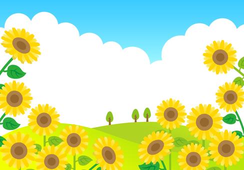 Sunflower hill frame