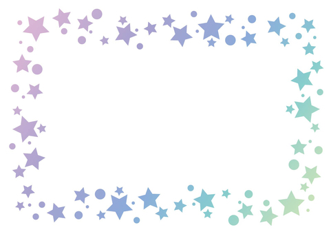 Small star frame background 01