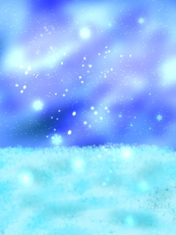 Snow and the Starry Sky