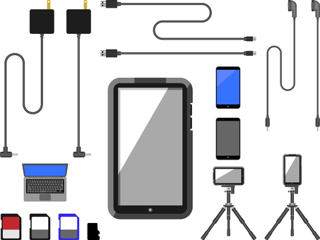 Smartphone and peripherals