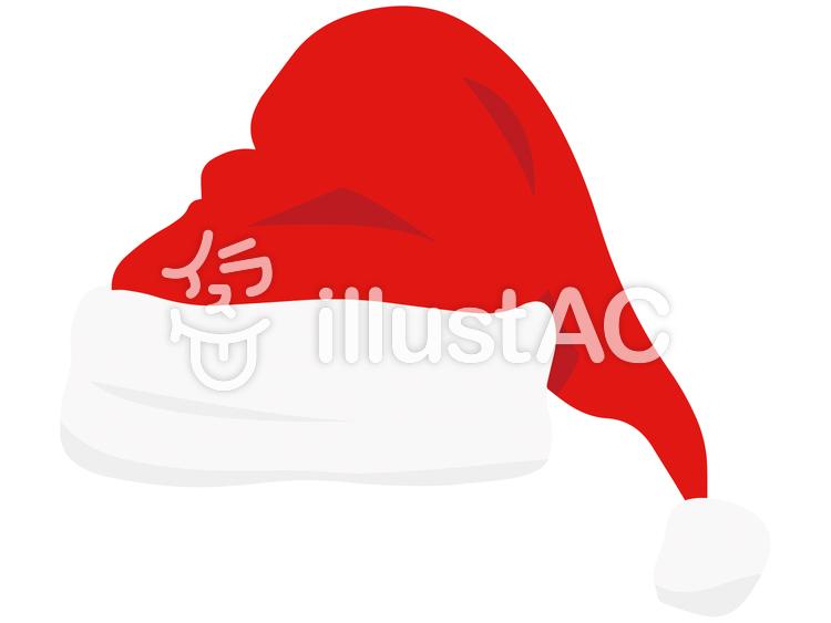 サンタの帽子のイラスト