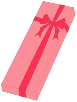 선물 상자 핑크