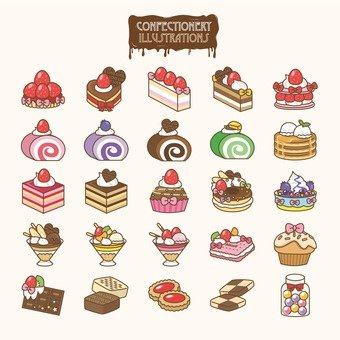 Sweets illustration