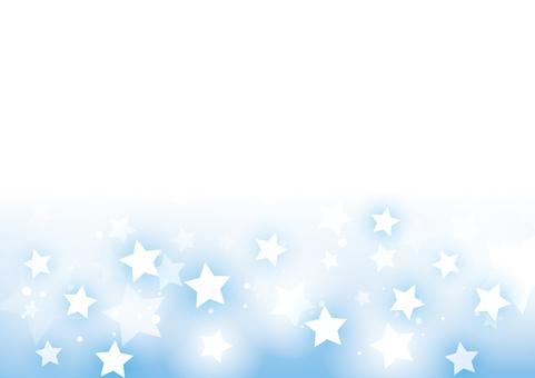 キラキラ光る星の背景01