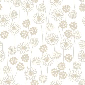 Small flower pattern 02 (white)