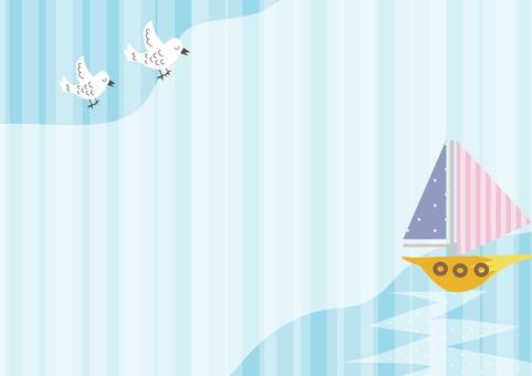 Sea and bird 3
