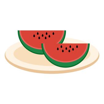 Image of cut watermelon
