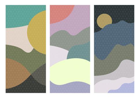 Japanese pattern texture