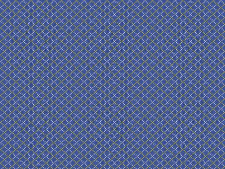 Knit Pattern Argyle - Blue