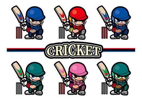 クリケット キャラ 選手 ゲーム 打者