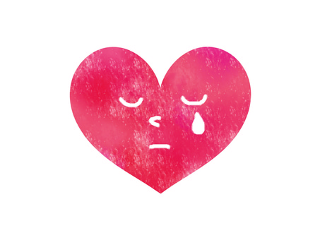 Crying heart 2