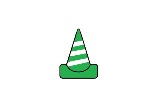 Color cone za