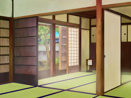 Japanese Background Room 1 Day