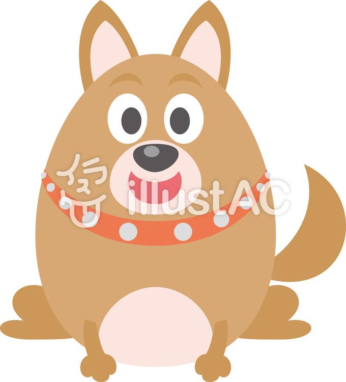 犬 おすわりイラスト No 937653無料イラストならイラストac