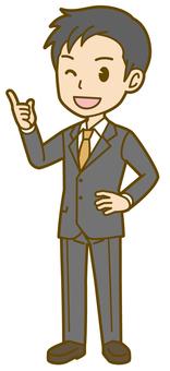 Male (company employee): B_ point 10 FS
