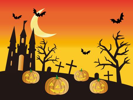 Scenery of Halloween