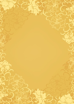 Chinese Flower pattern frame background