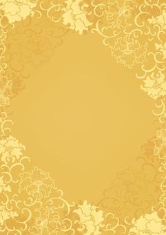 中國花紋花樣框架背景