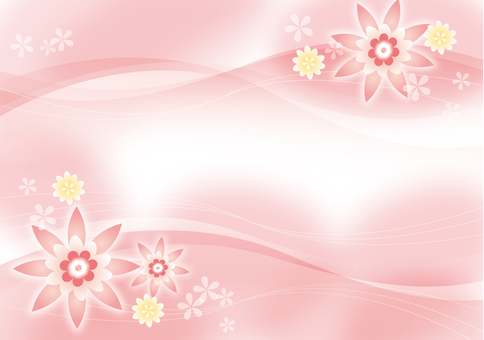 Flower salmon pink