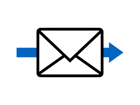 Email Mail Mark letter icon