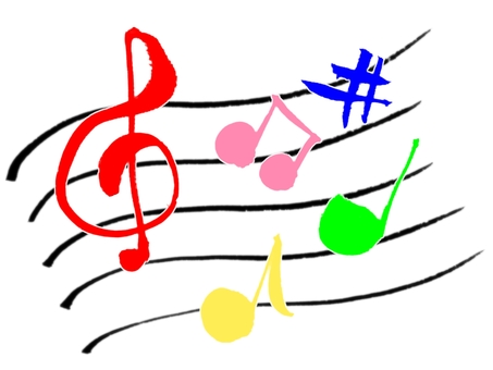 "Brush character ""Music"""