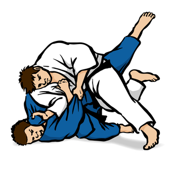 Judo 2 - White Blue
