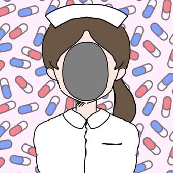 Face nurse's face