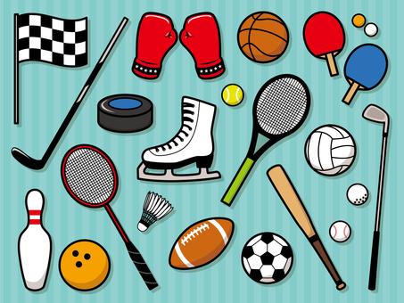 Sports goods set