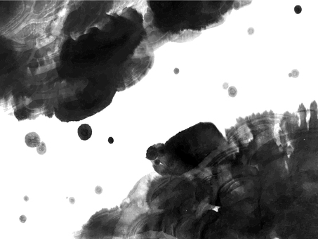 Ink background material