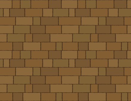 Cobblestone and brick pattern _ brick _ dark