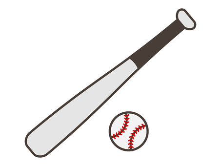 Baseball Bat & Ball 1