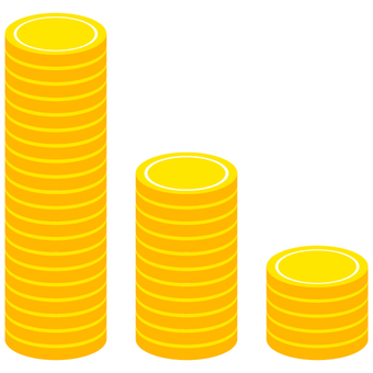 Stacked coin_graph