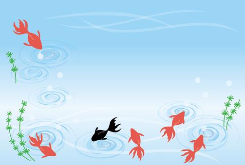 插圖免費金魚金魚