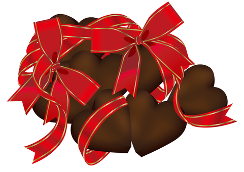 Heart chocolate 7