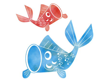 Spring _ Children's Day _ Koinoori _ Illustration
