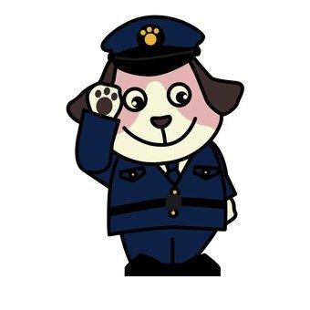 Dog's policeman