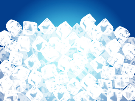 Cool ice block background