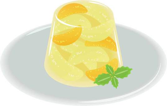 Citrus fruit jelly
