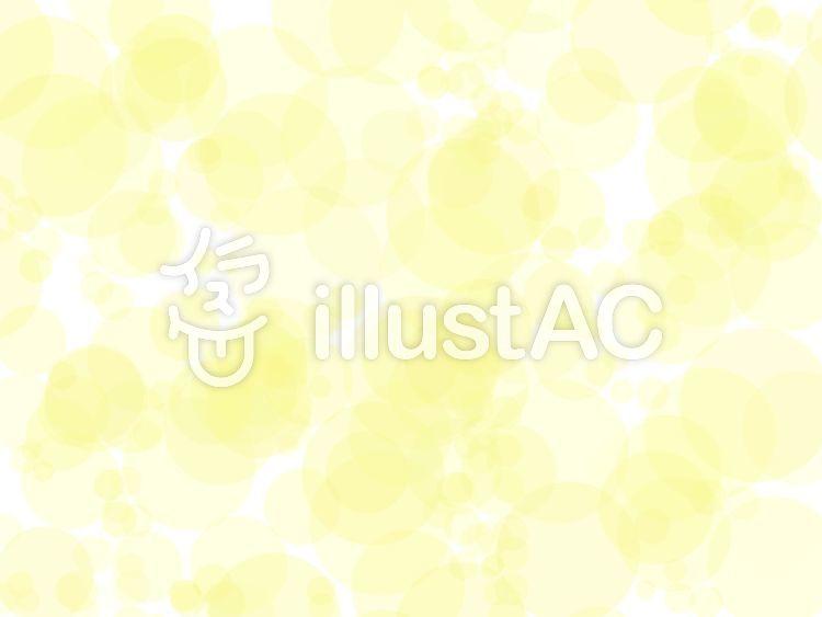 イラスト素材 : テクスチャ 背景素材 ドット 水玉 黄色